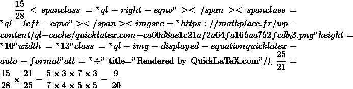 Mathplace quicklatex.com-23873e09b4752e31bf2c57b04c08ec00_l3 Exercice 4 : effectuer les divisions