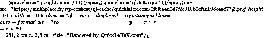 Mathplace quicklatex.com-6f734b55eaee50628ebc3e5289def7da_l3 Exercice 4 : Vélo de course