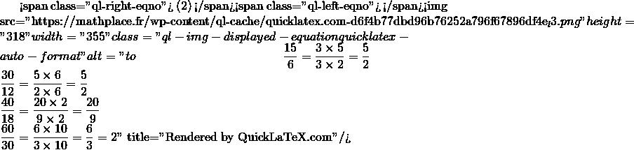 Mathplace quicklatex.com-956581afbe57c55fd0194bb6886fa20a_l3 1. Reconnaître une situation de proportionnalité