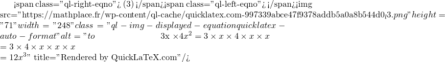 Mathplace quicklatex.com-bbb02c32defa8da98165e6a937c8175c_l3 I. Calcul littéral