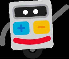 Mathplace mascotte-mathplace-robot Cours de maths en ligne et aide aux devoirs