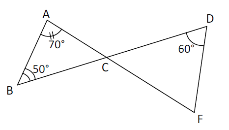 Mathplace exercice_5e_angle-1 Exercice 4 : calcul d'angles