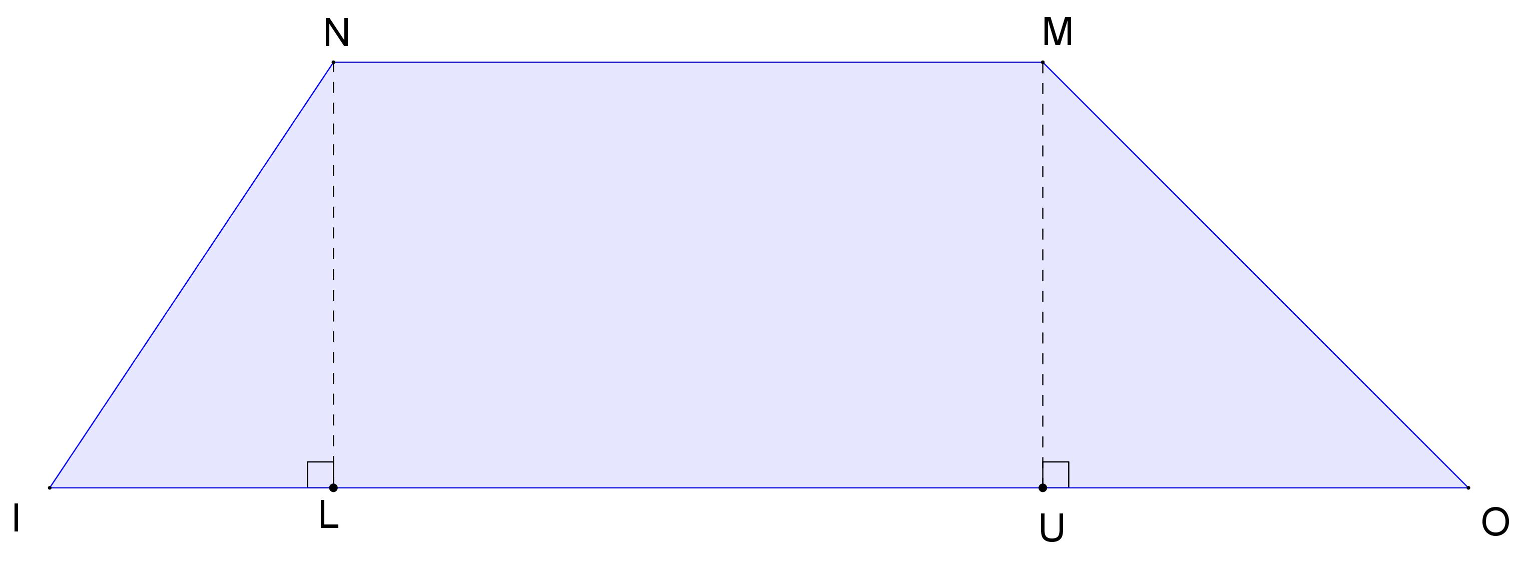Mathplace exercice_5e_perimetre_aire-11-1 Exercice 6 : aire d'un trapèze