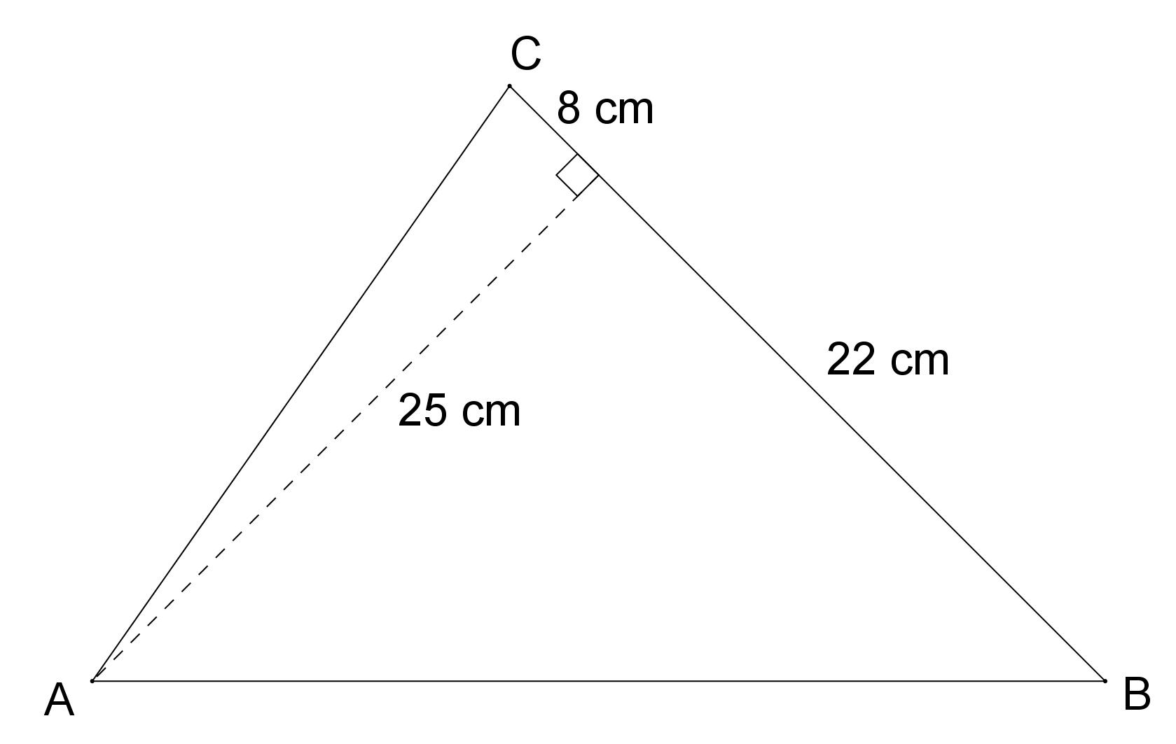 Mathplace exercice_5e_perimetre_aire-8-1 Exercice 4 : aire d'un triangle