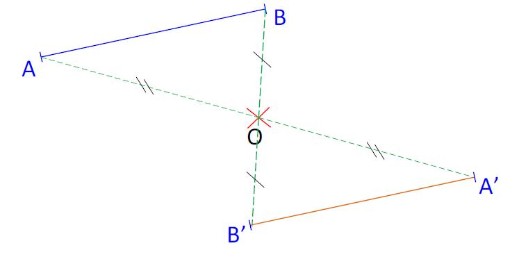 Mathplace cours_5e_symetrie_centrale-18 III. Construction symétrie centrale