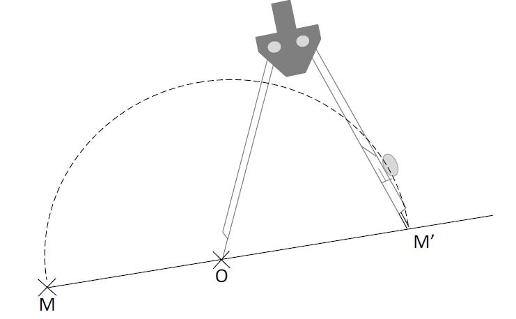 Mathplace cours_5e_symetrie_centrale-45 III. Construction symétrie centrale