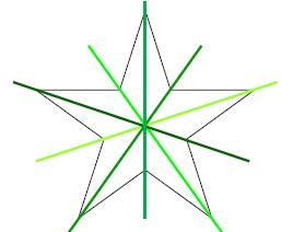 Mathplace exercice_5e_symetrie_centrale-12 Exercice 3 : centre de symétrie