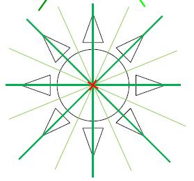 Mathplace exercice_5e_symetrie_centrale-15 Exercice 1 : centre de symétrie