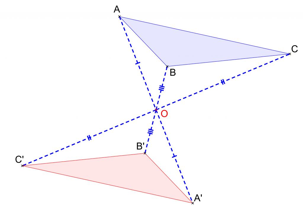 Mathplace exercice_5e_symetrie_centrale04a-1024x695 Exercice 4 : symétrie centrale