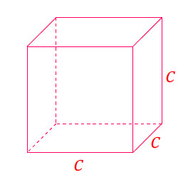 Mathplace cours_5e_volumes-19 III. Volume d'un cube