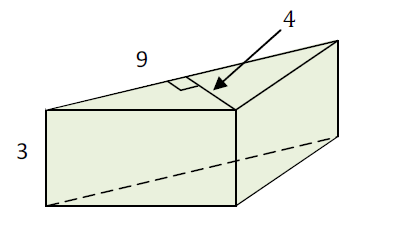 Mathplace exercice_5e_volume-1 Exercice 4 : volume du prisme