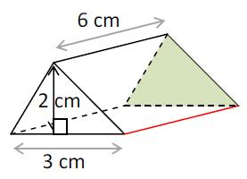 Mathplace exercice_5e_volume-4 Exercice 1 : volume du prisme droit