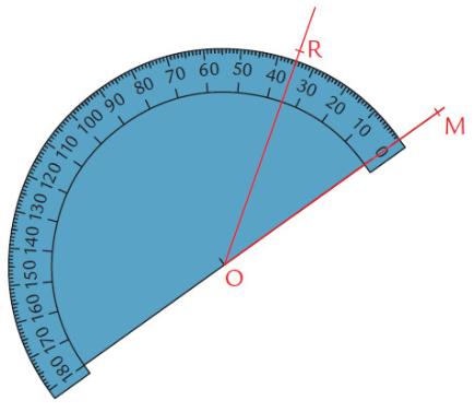 Mathplace exercice_6e_angles-25 Exercice 7 : Mesurer les angles avec un rapporteur