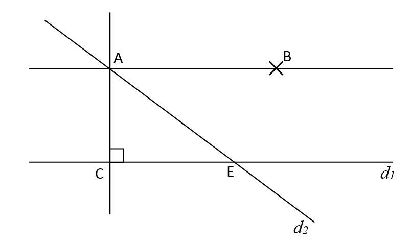 Mathplace exercice_6e_droite_par_perp-3 Exercice 1 : programme de construction