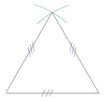 Mathplace cours_6e_figures_usuelles-22 Méthode pour construire un triangle équilatéral