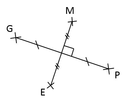 Mathplace exercice_6e_cercle-20 Exercice 2 : Quadrilatère