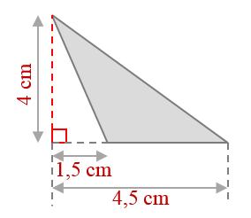 Mathplace exercice_6e_perimetre-1 Exercice 7 : Aire d'un triangle