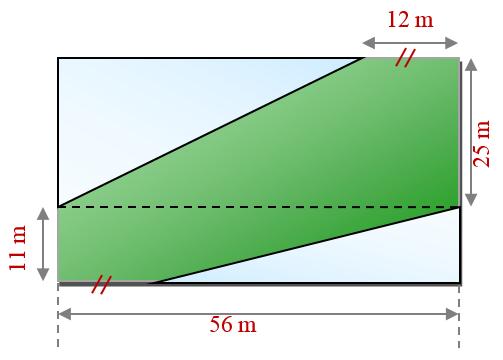 Mathplace exercice_6e_perimetre-30 Exercice 2 : Jardin public