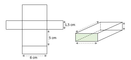 Mathplace exercice_6e_volumes-4 Exercice 6 : perspective cavalière