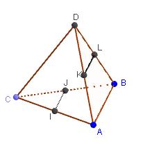 Mathplace figure-3-droites-et-plans Exercice 3 : Tétraèdre