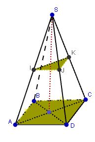 Mathplace figure-6-droites-et-plans Exercice 2 : Pyramide régulière