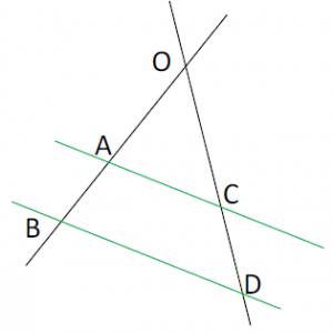 Mathplace cours_3e_thales-3-300x300 I. Théorème de Thalès