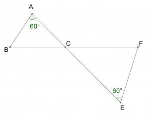 Mathplace exercice_3e_thales01-300x229 Exercice 3 : théorème de Thalès