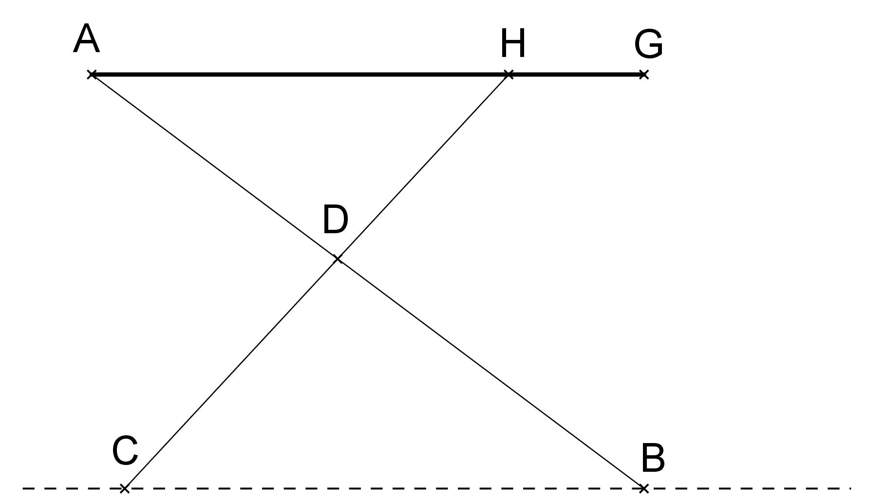 Exercice 7 Reciproque Du Theoreme De Thales Mathplace